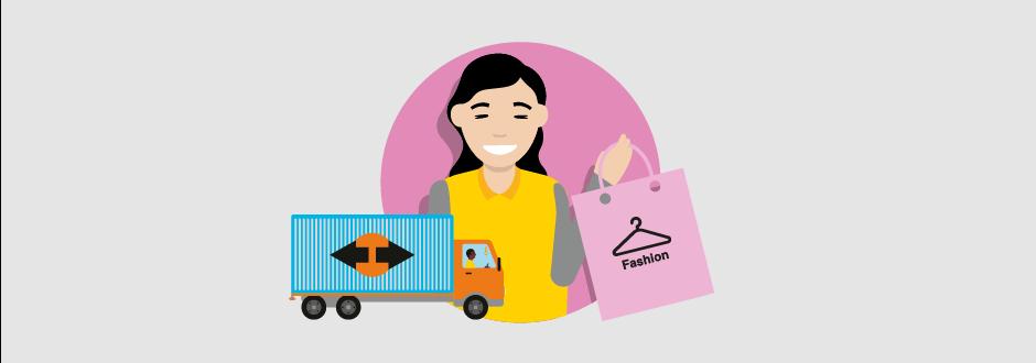 shopper bestelwagen