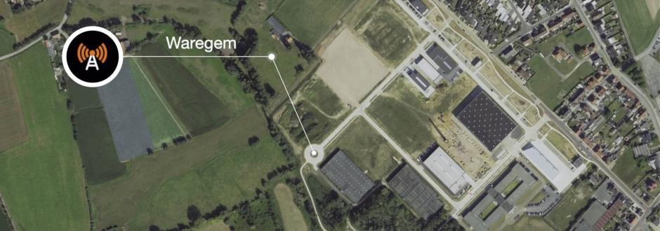 Plaatsing 4G-mast in industriezone Waregem