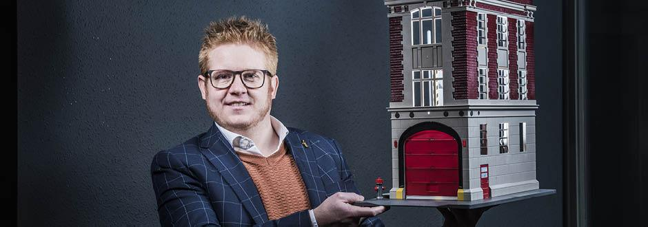 Nico Vergaelen, gérant de l'agence immobilière Vergaelen