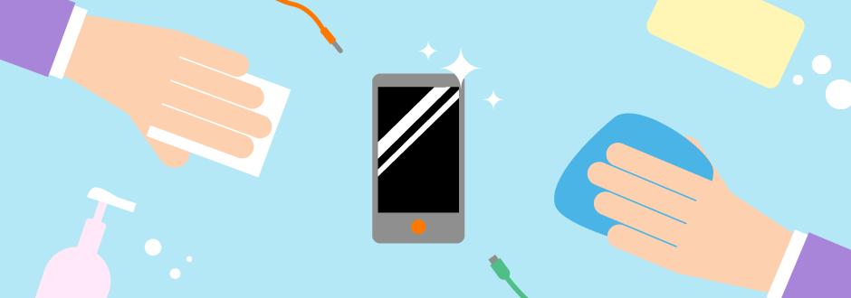 Hou je smartphone coronavrij