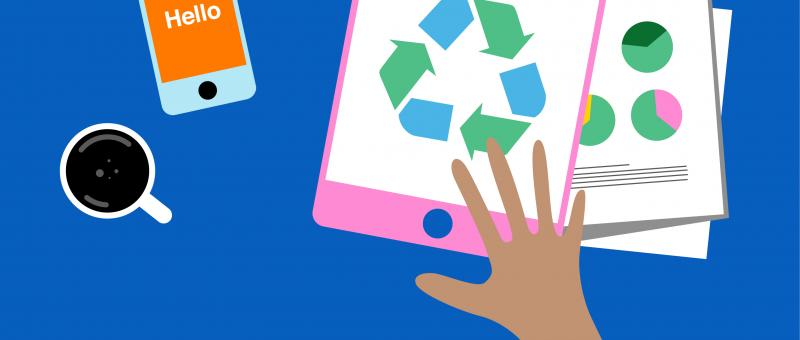Recycle smartphones